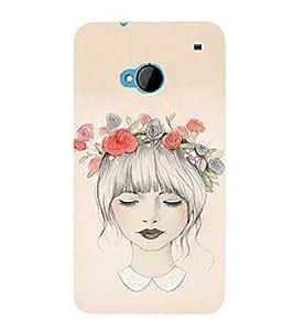 EPICCASE Flower Power Mobile Back Case Cover For HTC One M7 (Designer Case)