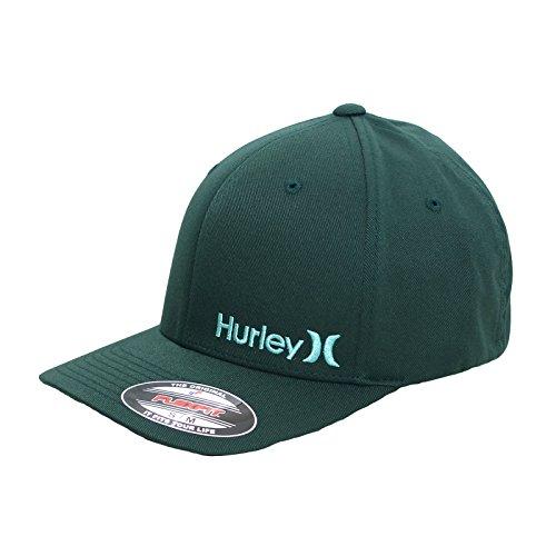 Hurley-Cappellino da uomo CORP verde (mha0003150-3lq), Uomo, WASHED TEAL, L/XL