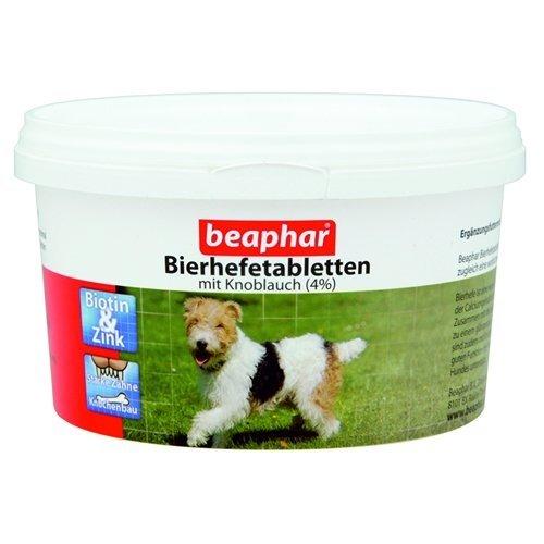 Beaphar - Bierhefetabletten mit Knoblauch - 500 Stück