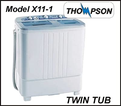 Thompson X11-1 Twin Tub Washer (Washing Machine & Spin Dryer) FULL SIZE from Thompson