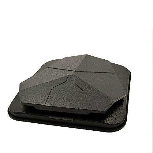 Jiecafy Autotelefonhalter, Mittelkonsole Universal-Navigationshalterung, unterstützt die meisten flachen mobilen Navigationsgeräte