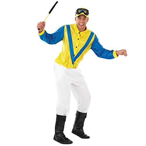 Jockey Kostüm Für Herren - Fun Shack Herren Costume Kostüm, Jockey