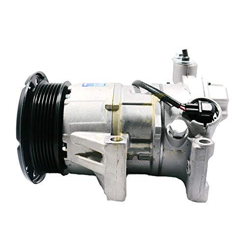 SINOCMP 6PK A/C Kompressor mit Kupplung 88310-0D200 Luftkompressor Neu Klimaanlage Kompressor AC Kompressor Kupplung Assy für Toyota Yaris SCP90 - Kompressor Kupplung Mit Ac