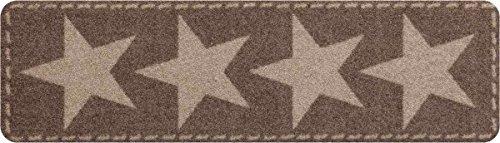 Salonloewe Fußmatte nougat Größe 30x100 cm