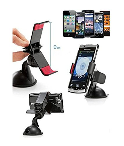 Sony Xperia M4 Aqua Dual Compatible Certified Mobile Phone Car Mount Holder, Secure Mobile Phone Stand  available at amazon for Rs.149