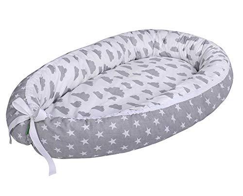 LULANDO Baby-Nest cocon pour bébé/nourrisson, cocon à usage multiple, coussin pour bébé, couffin de voyage...