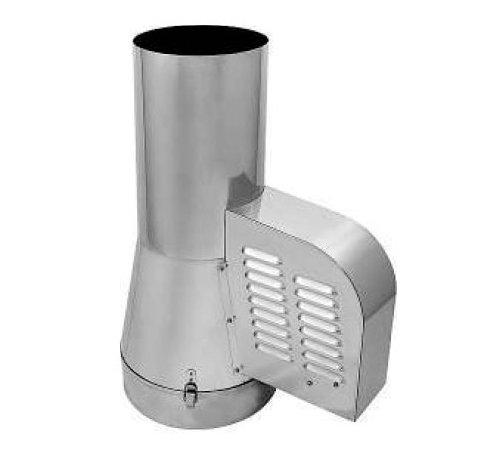 Courants d'air en acier inoxydable Générateur Rotowent pour tuyau 150mm