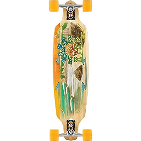 Sector 9 Bamboo Shoots 2015 Complete Skateboard Includes Gullwing Sidewinder Trucks - 8.75 x 33.5 by Sector