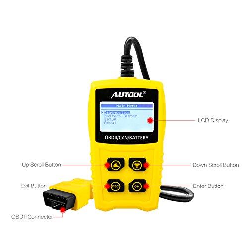 Auto Codeleser CS330 Scan für OBDII / EOBD / CAN Automotive Scanner Auto OBD2 Diagnose Tool Unterstützung Analysieren Autobatterie Spannung Genau - 4