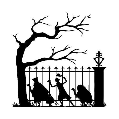 Junjie Halloween-lustiger Grinsenkürbiskopf-Halloween-Wandaufkleber Individualität kreativ Geschnitzte Wandsticker Schlafzimmer Küche (Kreative Kostüm Für Teenager Mädchen)