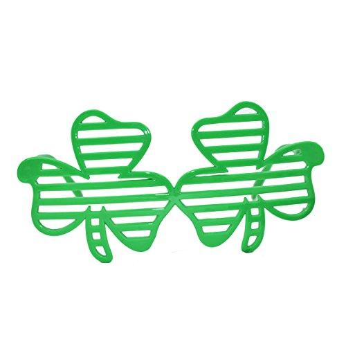 luoem Brille Kostüm irische Leprechaun Zubehör Kostüm Saint -