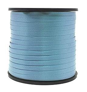 Unique Party 48627-Cinta de Regalo, Color Azul Claro, 90 Meters (48627)