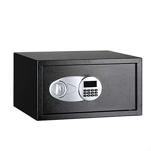 AmazonBasics - Caja fuerte (28 l), color negro
