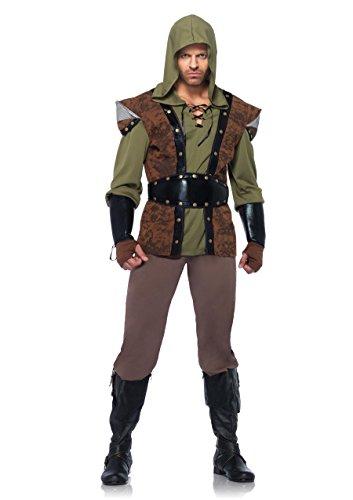 Kostüm Xl Hood Robin Adult - Leg Avenue 85268 - Robin Hood Kostüm Set, 5-teilig, Größe XL, braun