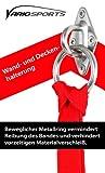 Variosling Augplatte Befestigungshaken für Wand oder Decke mit Rundring, metall, Ha01 -