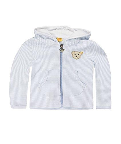 Steiff Steiff Unisex - Baby Sweatshirt, Blau (Steiff baby blue), Baby (Herstellergröße:50)