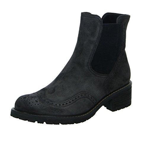 Gabor - Damen Stiefeletten - Grau Schuhe in Übergrößen, Größe:42