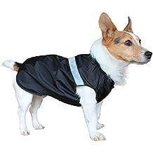 Hunderegenjacke, leicht, wasserfest, für nasse und schlammige Spaziergänge, 30,5 cm lang