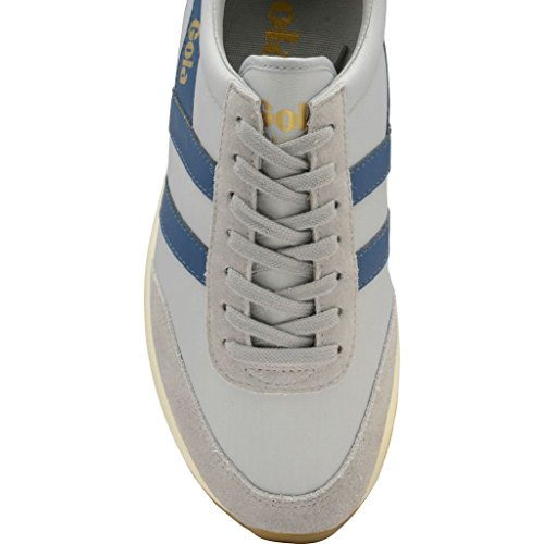 Gola Herren Montreal Sneaker Grau (Light Grey/marine Blue Grey)