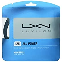 LUXILON Big Banger Alu Power 125 Tennis String (12m), Blue by Luxilon