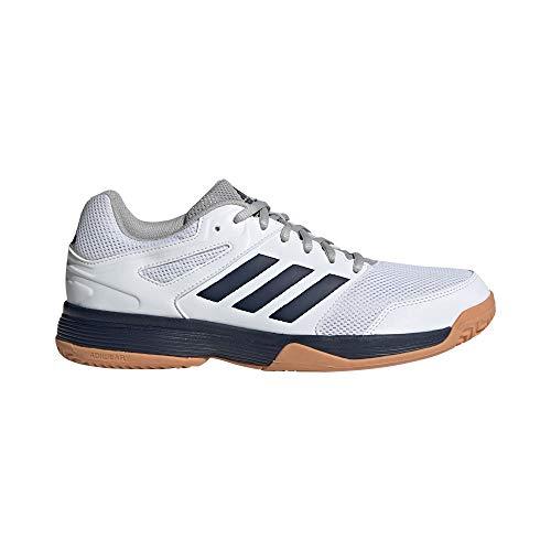adidas Herren Performance Speedcourt Volleyballschuhe, Weiß (White EF2623), 46 2/3 EU