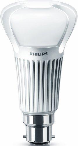 Philips Master LED 13 W Ampoule de Rechange (75 W) Blanc Chaud, avec variateur d'intensité, B22 à baïonnette