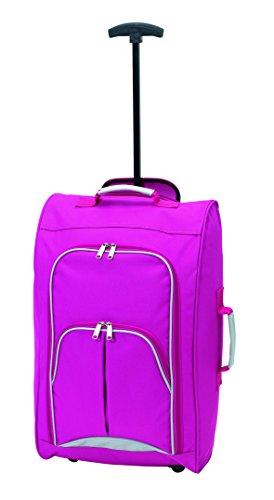 equipaje-de-mano-viaje-vienna-rosa-600d-poliester-low-budget-vuelo-lineas-ahora-ya-adecuado-para-la-