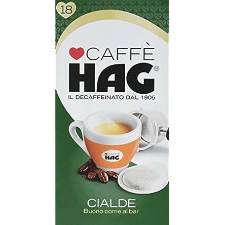 Hag Cialde Caffè Decaffeinato Miscela Espresso – 125 g