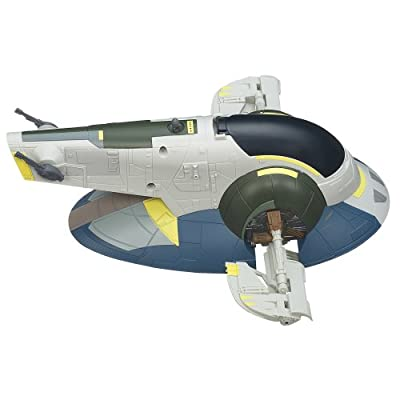 Star Wars A2288 JANGO FETT Slave 1 Véhicule Class II avec Missile Launcher