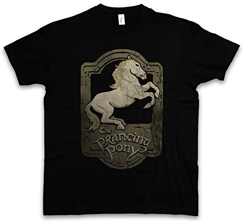 prancing-pony-t-shirt-el-senor-albergue-fonda-hostal-pensionlord-of-the-de-los-anillos-pony-inn-ring