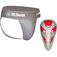 Vitalphysio McDavid 3300 Athletic Support Jock Strap Sports with Boxer Cup Groin Guard