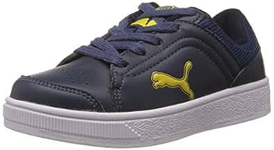 Puma Unisex Skool Jr Ind Blue Sneakers - Boys and Girls - 11-C UK