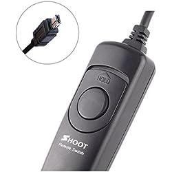 Shoot cavo di scatto remoto otturatore per Nikon D750, D7100, D7000, D5500, D5200, D5100, D5000, D5100, D5000, D3200, D3100, D600, D90(equivalente a MC-DC2Cavo di scatto remoto