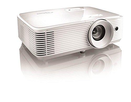 Optoma WU337  WUXGA 3600 Lumens Portable 3D DLP Projector  White