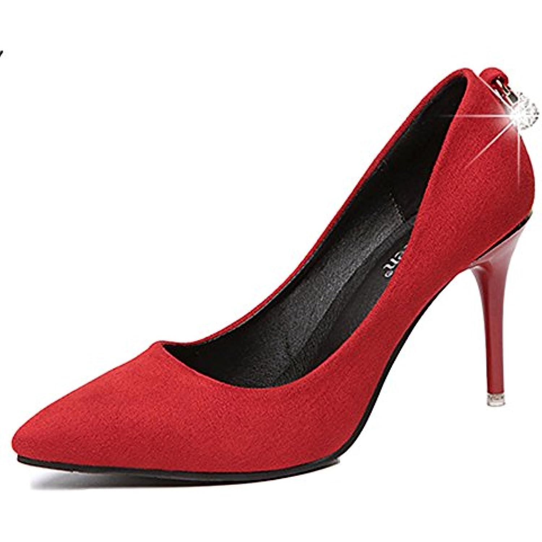Mesdames Stiletto à à à Talons Hauts Pointu Chaussures Cutt Chaussures De Soirée Sexy Chaussures De Mariage Élégant... - B07DPR1Z8X - 37af68