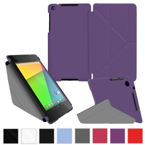 roocase-google-nexus-7-2013-fhd-case-2nd-gen-2013-model-origami-slim-shell-cover-purple-with-auto-wa