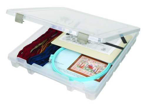 "15\""X14\""X2\"" Translucent ArtBin Super Satchel Slim Single Compartment 9100AB"