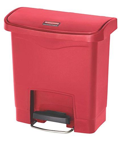 rubbermaid-slim-jim-1883456-anteriore-passo-step-on-resina-cestino-15-litres-rosso-1