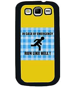 PrintVisa Metal Printed Quotes Designer Back Case Cover for Samsung Galaxy S3 I9300-D4763
