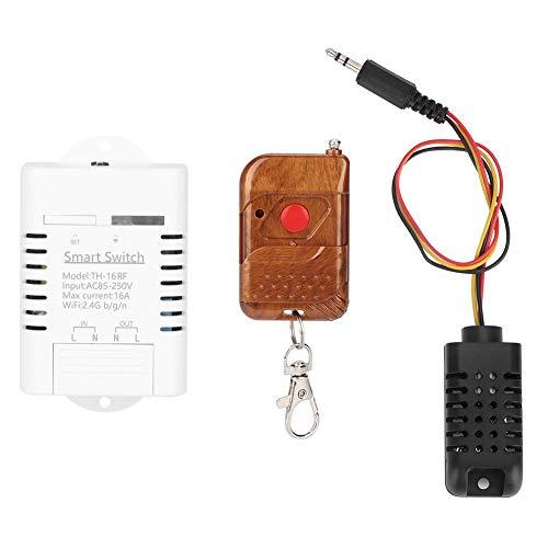 WiFi Caja Fuerte del Interruptor 16A WiFi Inteligente Interruptor de luz Control Remoto del hogar Interruptores...