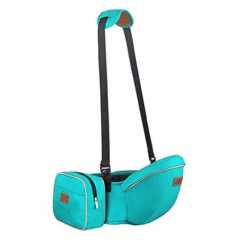 Baby Carrier 3D Breathable Hip Sitzträger Ergonomisches Design Strap Verstellbare Neugeborene Portable Multifunktions Rucksackträger , green