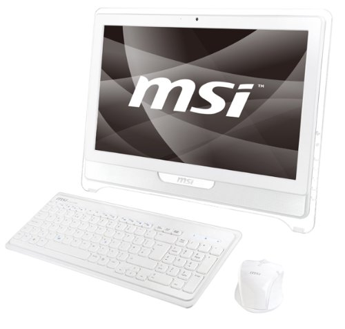 Windtop (MSI Wind Top AE2220-T6646W7P Touch 4SW 55,9 cm (22 Zoll) Desktop-PC (Intel Core 2 Duo T6600 2,20 GHz, 4GB RAM, 640GB HDD, NVIDIA GeForce 9300, DVD, Win 7 Pro))