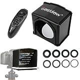 Falcon Eyes Bestview Teléfono Inteligente de Alta definición Teleprompter DSLR para Canon Nikon Sony Camera Youtube Photo Studio...