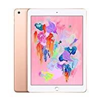 Apple iPad 2018 without face time - 9.7 Inch Retina Display, 32GB, WiFi, Gold