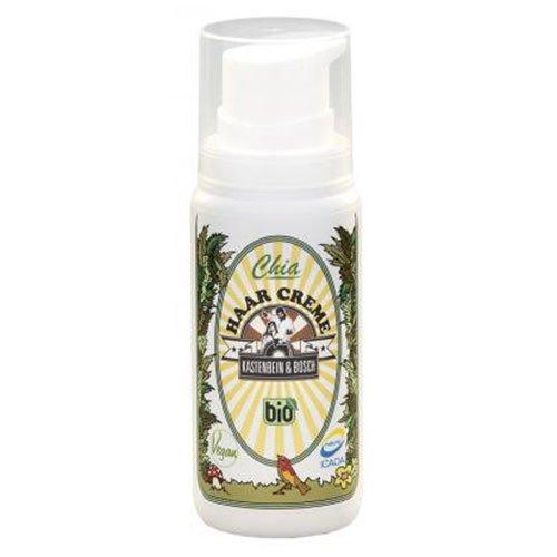 Bio cheveux Crème avec huile d'argan + Chia contre cheveux secs, abîmés I 100% naturel, glycerinfrei, sans lactose & végétalien I Soins des cheveux de jambe Boîte & Bosch, 100 ml