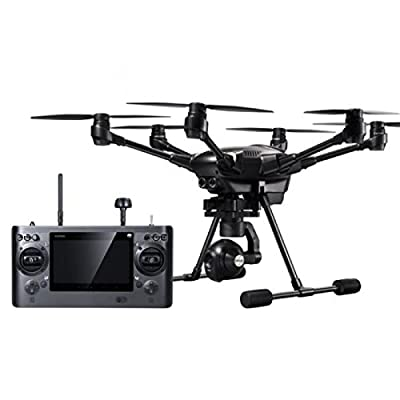Yuneec Typhoon H PROFFESIONAL VERSION WITH INTEL REAL SENSE 5.8G FPV With CGO3+ 4K Camera 3-Axis Gimbal 7-Inch Touchscreen RC Hexacopter RTF by Yuneec