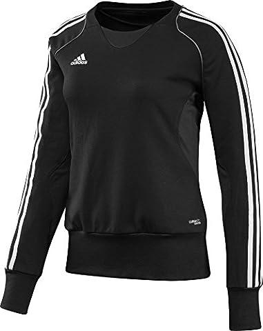 adidas T12 Crew Sweatshirt femme Noir FR : 54 (Taille Fabricant : 54)