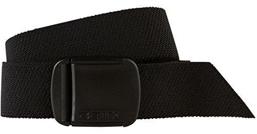 BETTA 3,8cm breiter elastischer Stretch-Gürtel für Herren mit ultra-starker, verstellbarer Schnalle (Betta Wasser)