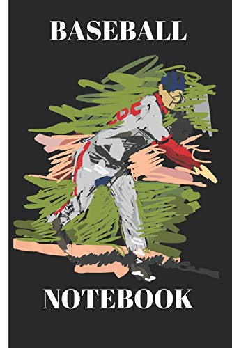 Baseball Notebook: Funny Writing 120 Pages Notebook Journal -  Small Lined  (6