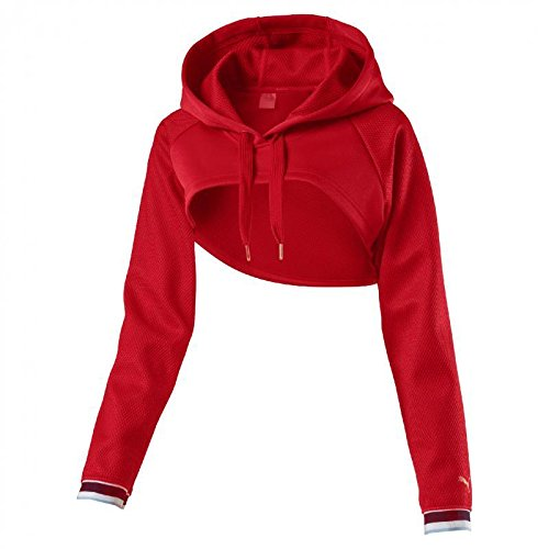 Puma Varsity Cover Up, T-Shirt Donna, Ribbon Red, ...